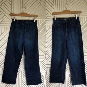 Nasty Gal High Waist Wide Leg Denim Jeans